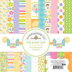 Simply Spring, Doodlebug 6 X 6 Paper Pad - 842715062726