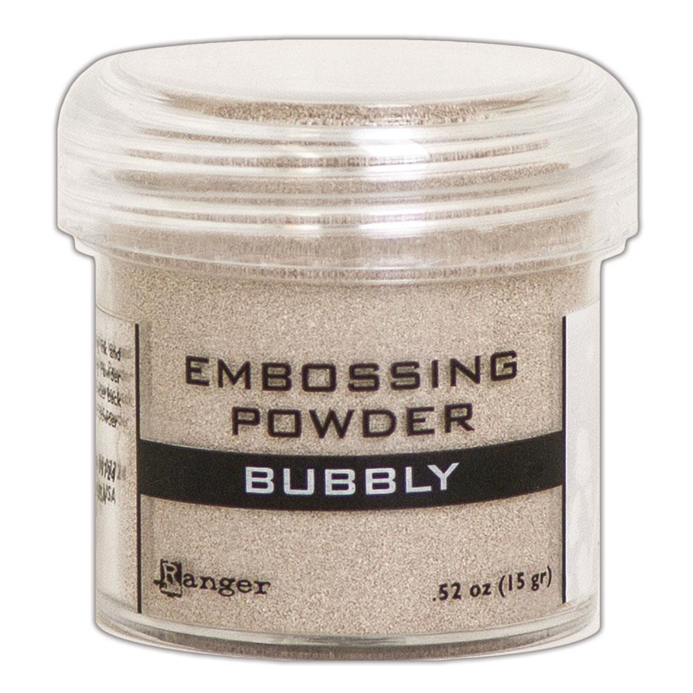 Bubbly, Ranger Metallic Embossing Powder -