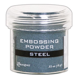 Steel, Ranger Metallic Embossing Powder - 789541066873