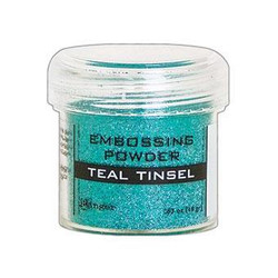 Teal Tinsel, Ranger Embossing Powder -