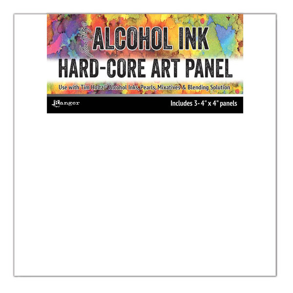 4 X 4 Hard Core Art Panel, Ranger Alcohol Ink - 789541066897