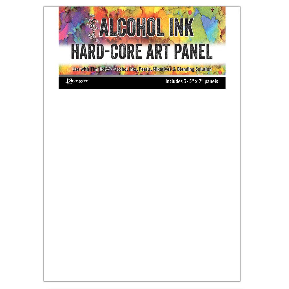 5 X 7 Hard Core Art Panel, Ranger Alcohol Ink - 789541066903