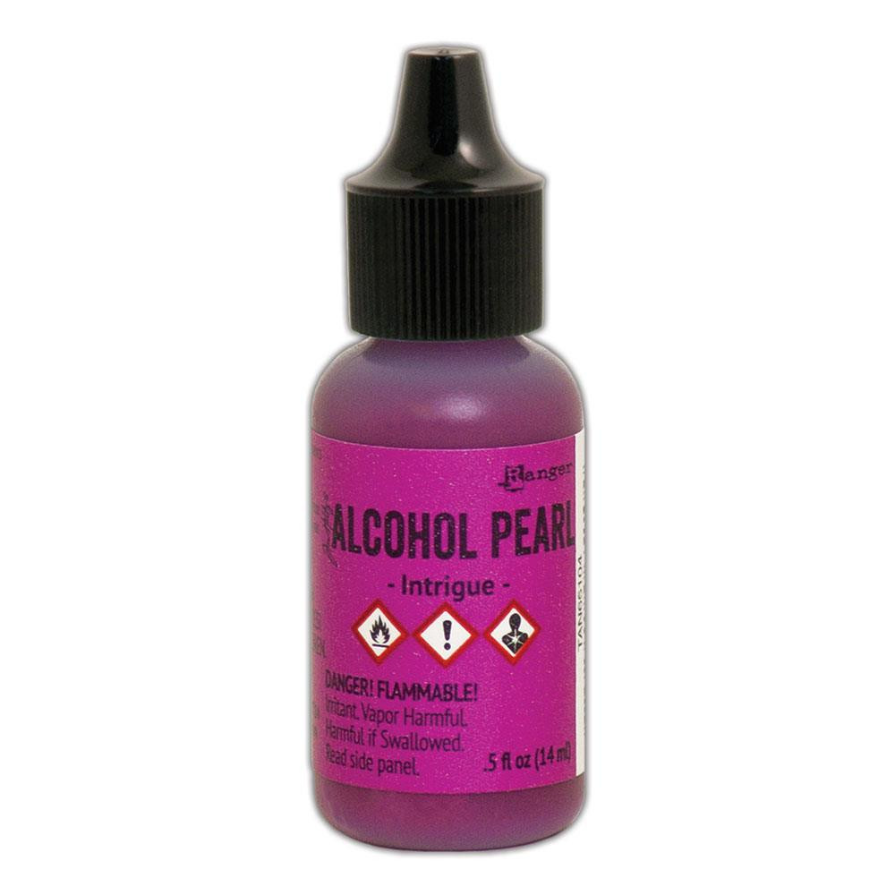 Intrigue, Ranger Alcohol Pearl Ink -