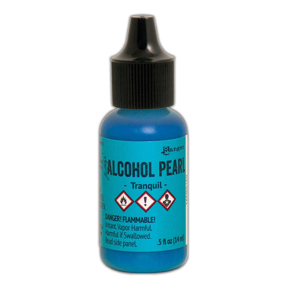 Tranquil, Ranger Alcohol Pearl Ink -