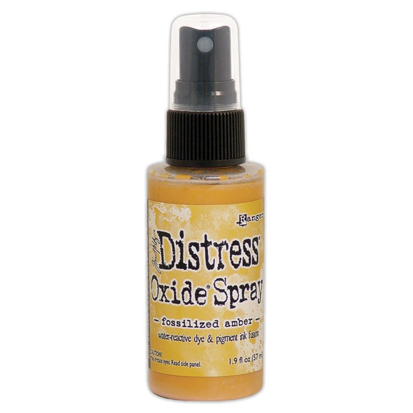 Fossilized Amber, Ranger Distress Oxide Spray - 789541064756
