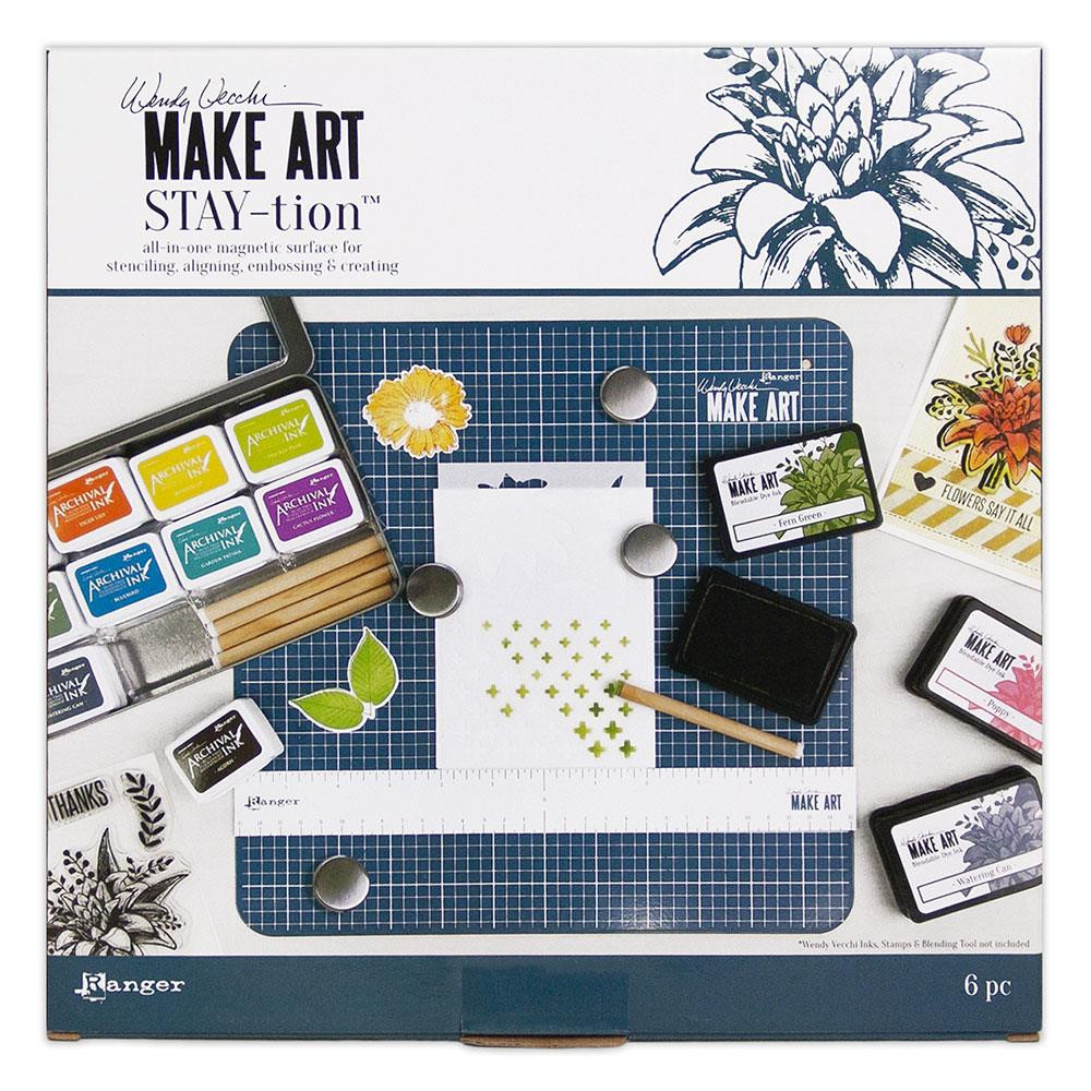 Make Art Stay-tion, Ranger Wendy Vecchi -