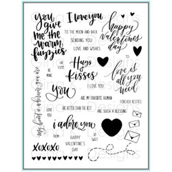Love Is All You Need, Gina K Designs Clear Stamps - 609015542217