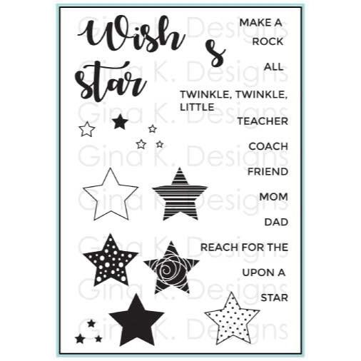 All Star, Gina K Designs Clear Stamps - 609015542361