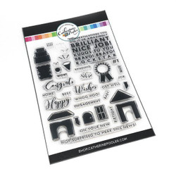 Kudos to You, Catherine Pooler Clear Stamps -