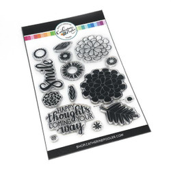 Bloomin' Happy, Catherine Pooler Clear Stamps -