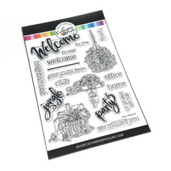 Warm Welcome, Catherine Pooler Clear Stamps -