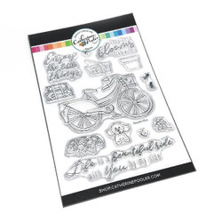 Beautiful Ride, Catherine Pooler Clear Stamps -
