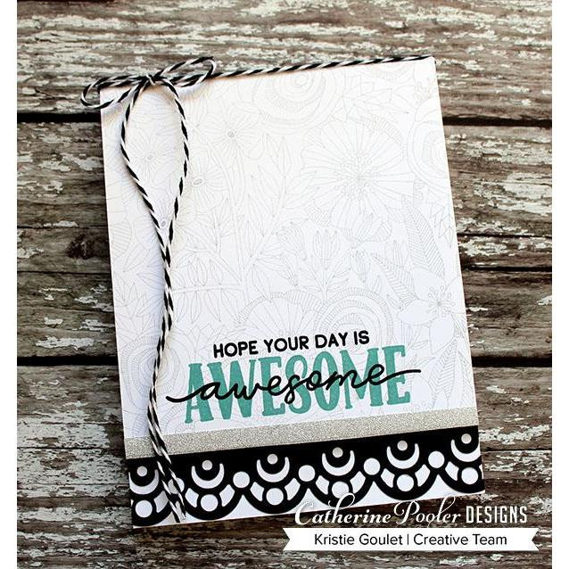 Awesome & Wonderful, Catherine Pooler Clear Stamps -