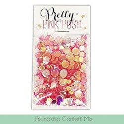 Friendship, Pretty Pink Posh Confetti Mix -