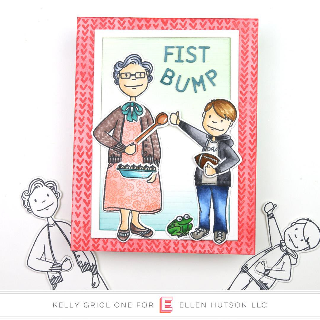 Leading Ladies - Grand Lady by Brandi Kincaid, Essentials by Ellen Clear Stamps -