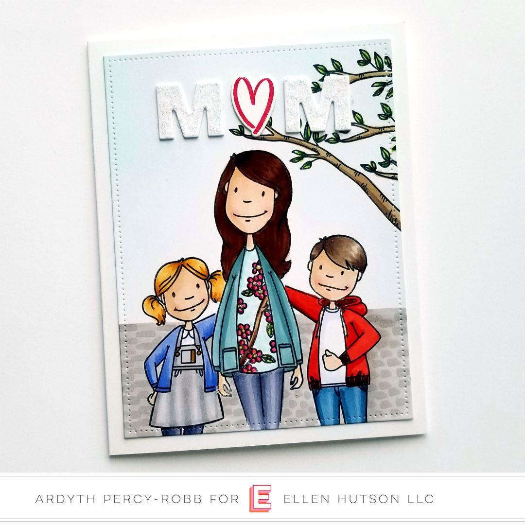 Leading Ladies - Little Gentleman by Brandi Kincaid, Essentials by Ellen Clear Stamps -