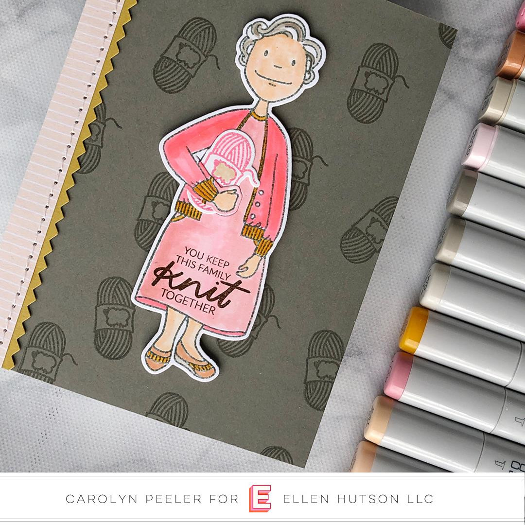 Leading Ladies - Grand Lady by Brandi Kincaid, Essentials by Ellen Designer Dies -