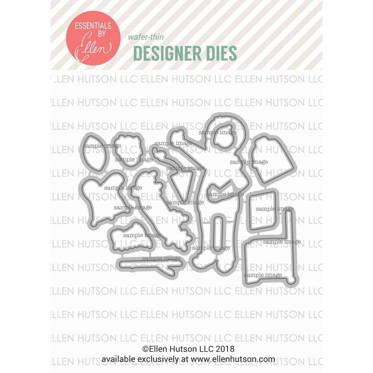 Leading Ladies - Little Gentleman by Brandi Kincaid, Essentials by Ellen Designer Dies -