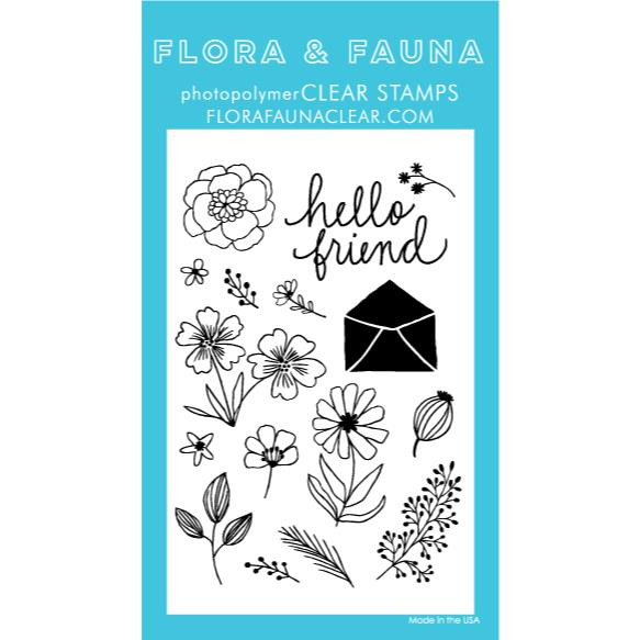 Flower Garden, Flora & Fauna Clear Stamps - 725835782159