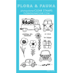 Car Garden, Flora & Fauna Clear Stamps - 725835782166