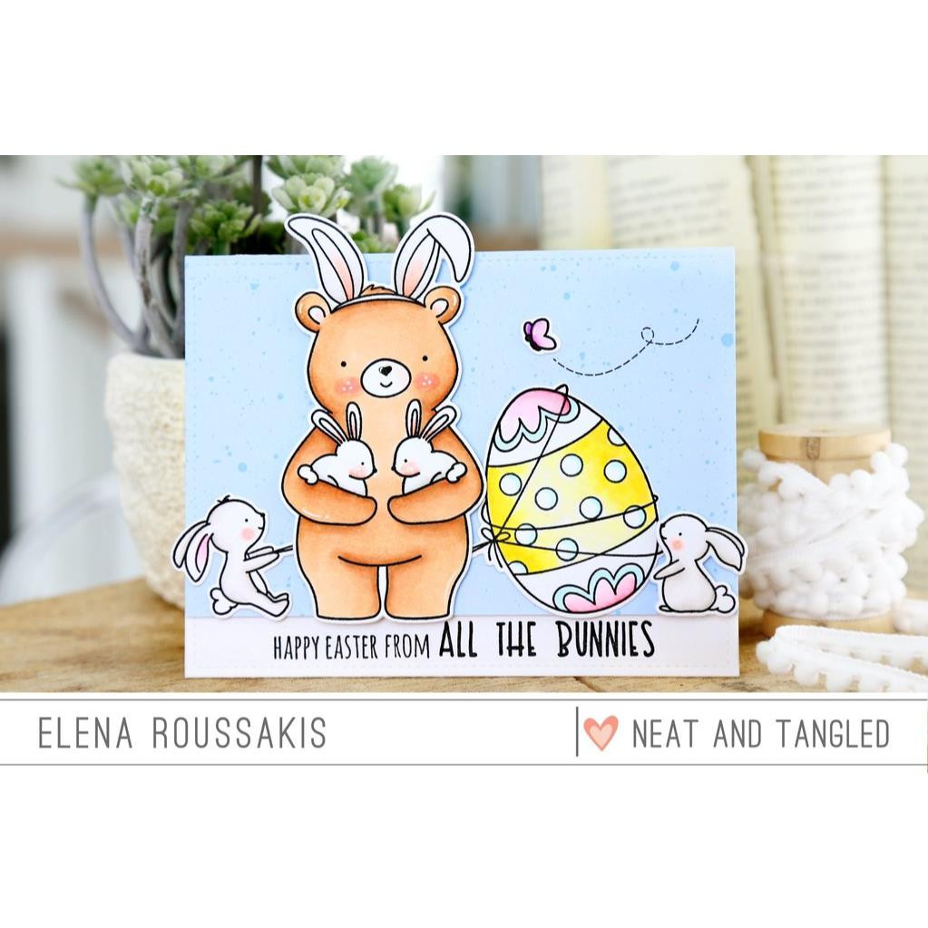 All The Bunnies, Neat & Tangled Clear Stamps -