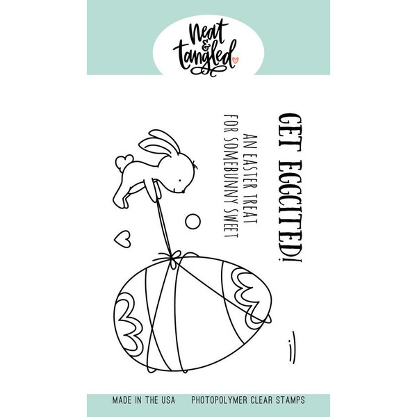 Eggciting, Neat & Tangled Clear Stamps -