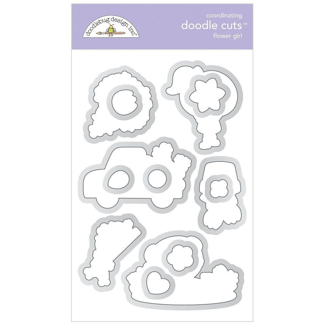 Flower Girl, Doodle Cuts - 842715063341