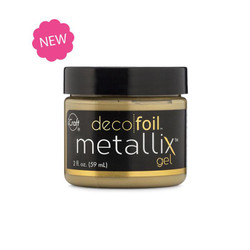 Pure Gold, Deco Foil Metallix Gel - 943055419