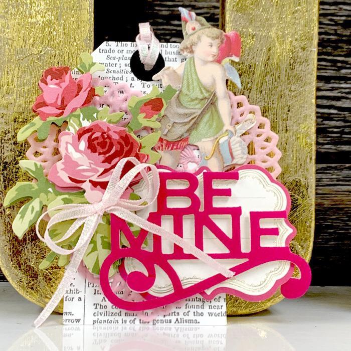Think Pink, Deco Foil Flock Transfer Sheets - 943055334