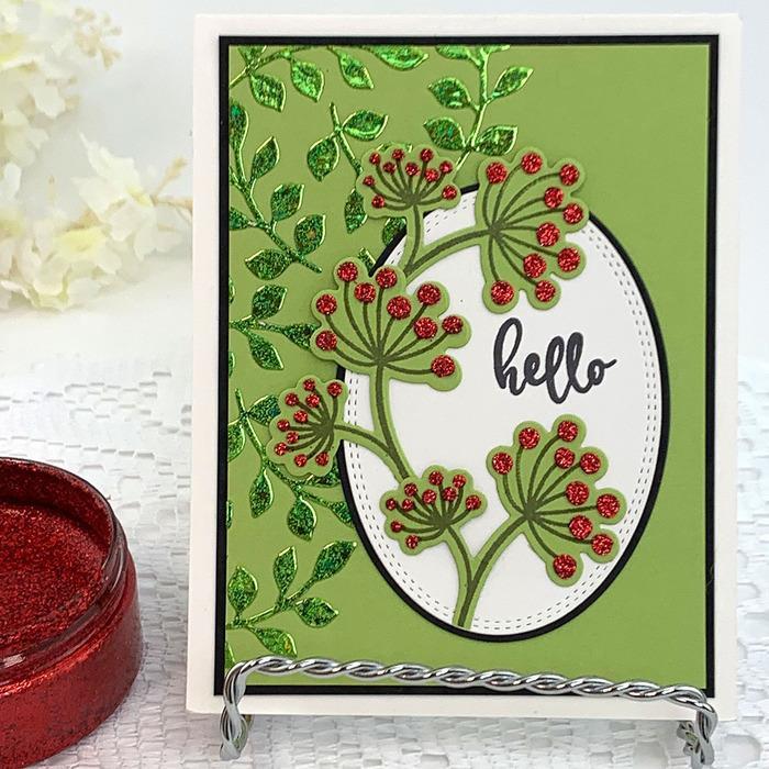 Red Velvet, Gina K Designs Glitz Glitter Gel - 943181347