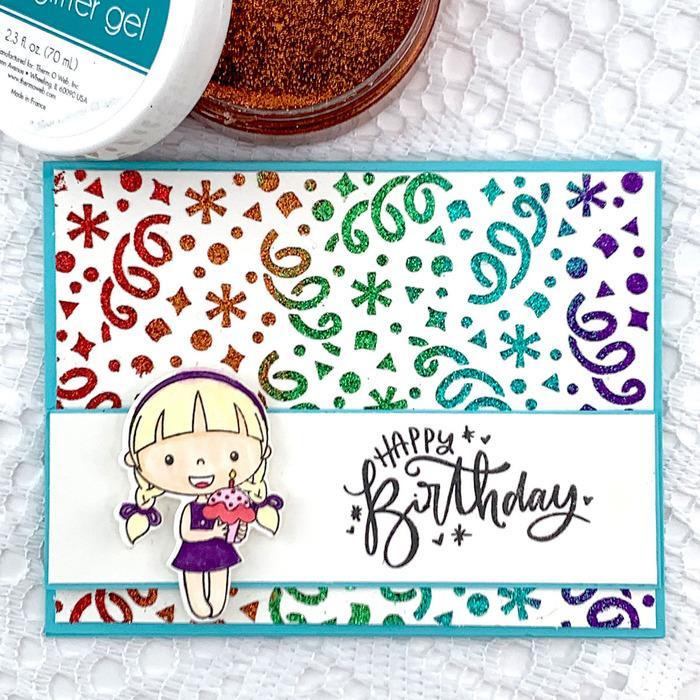 Sweet Mango, Gina K Designs Glitz Glitter Gel - 943181354