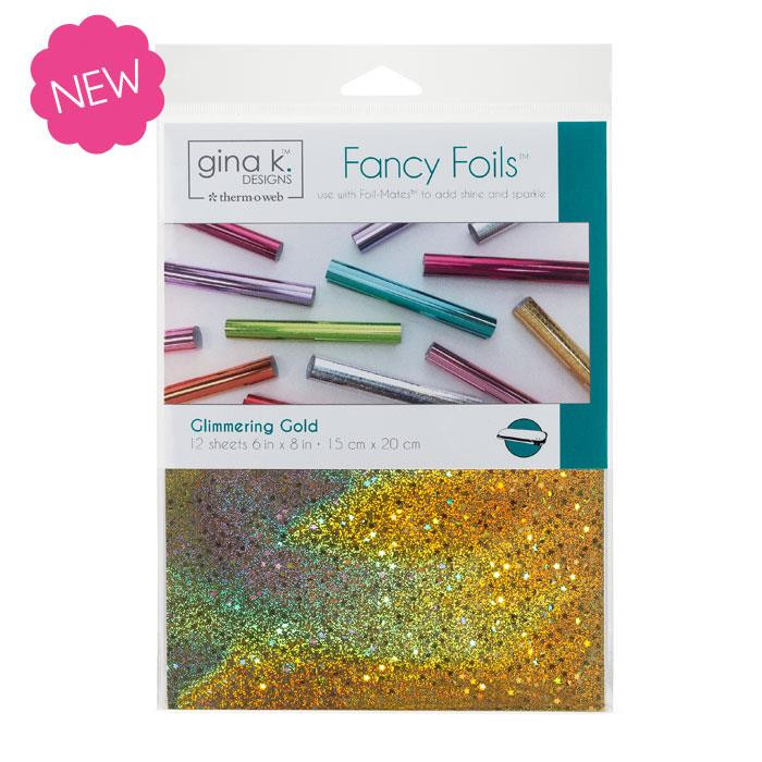 Glimmering Gold, Gina K Designs Fancy Foils - 943181248