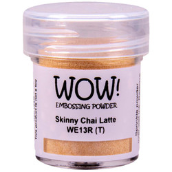 Skinny Chai Latte - WOW Embossing Powder, Regular - 5060210529338