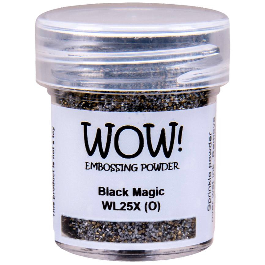 Black Magic - WOW Embossing Powder, Regular - 5060210529369