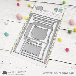 Sweet Feline, Mama Elephant Creative Cuts -