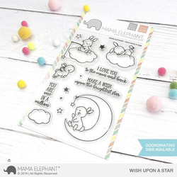 Wish Upon A Star, Mama Elephant Clear Stamps -