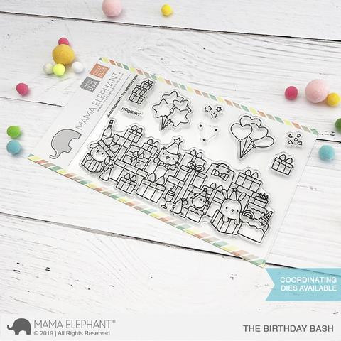 The Birthday Bash, Mama Elephant Clear Stamps -