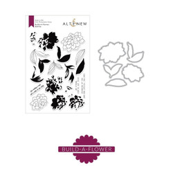 Build A Flower - Dahlia, Altenew Stamp And Die - 704831295843