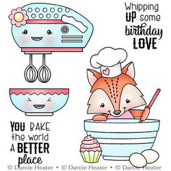 Bake The World, Darcie's Clear Stamps -