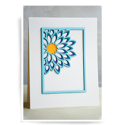 Dahlia Mini Frame Layer Set, Birch Press Design Dies -