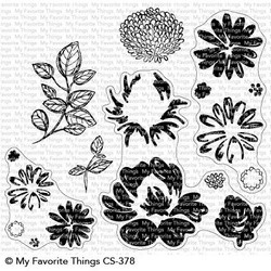 Painted Petals, My Favorite Things Clear Stamps - 849923030059