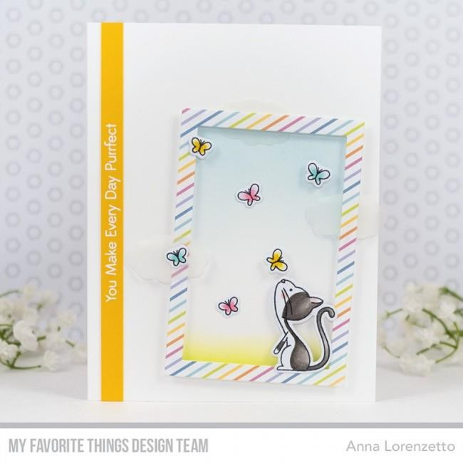 Purrfect Friends, My Favorite Things Clear Stamps - 849923030073