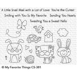 Cute Critters, My Favorite Things Clear Stamps - 849923030080