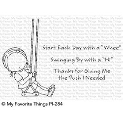 Pure Innocence - Start Each Day With A Whee, My Favorite Things Clear Stamps - 849923030110