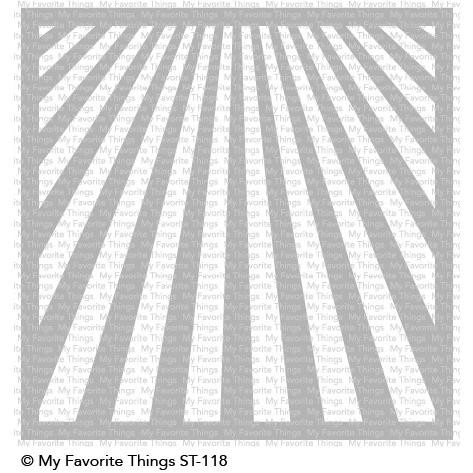 Ray Of Light, My Favorite Things Stencils - 849923030141