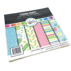 Cabana Prints, Catherine Pooler Patterned Paper - 819447022199