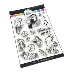Toucan Do It, Catherine Pooler Clear Stamps - 819447021949