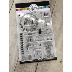 Oh Hi, April, Catherine Pooler Clear Stamps - 819447023042