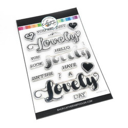 Isn't She Lovely, Catherine Pooler Clear Stamps - 819447023530