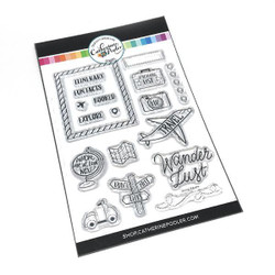 Going Where?, Catherine Pooler Clear Stamps - 819447023660